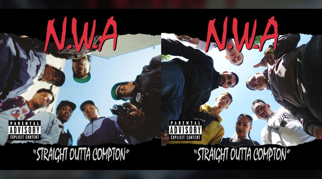 Afbeelding van Appelsap covert Straight Outta Compton
