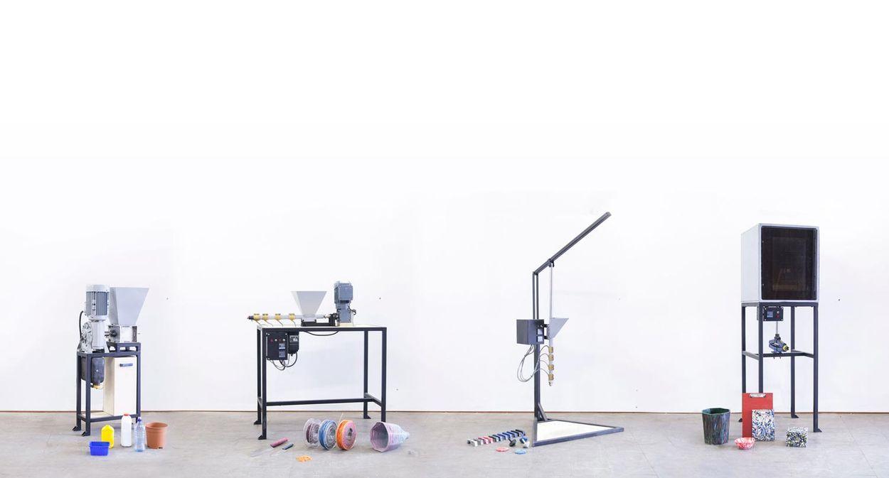 Afbeelding van Met deze uitvindingen kun je zelf spullen maken van plastic afval