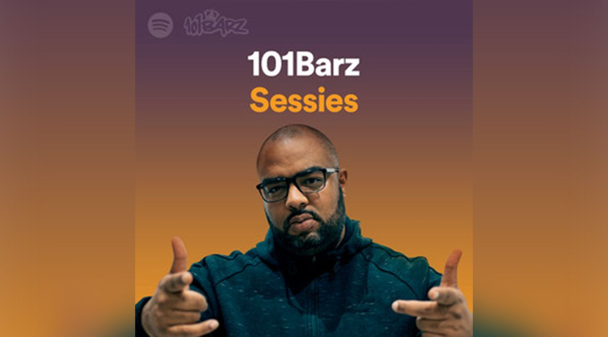 Afbeelding van 101Barz nu ook op Spotify