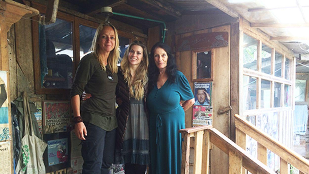 Afbeelding van Floortje ontmoet de Britse Jenny in Colombia