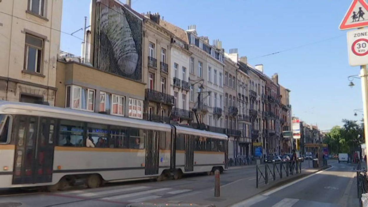Afbeelding van In België is iemand stiekem piemels aan het overschilderen