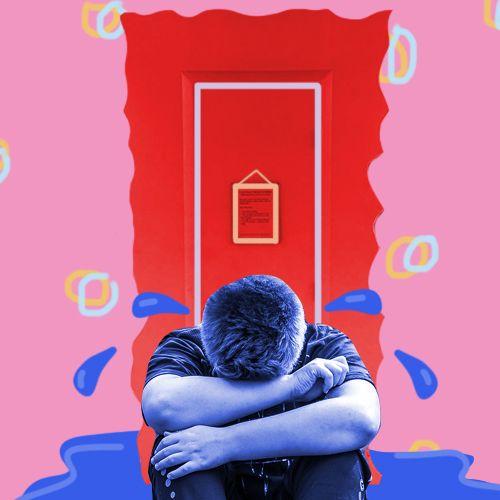 Afbeelding van Een 'huilhoekje' vangt de tranen van Nederlandse studenten niet op