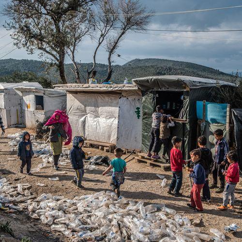 Afbeelding van Hoever laten we het komen in vluchtelingenkamp Moria?