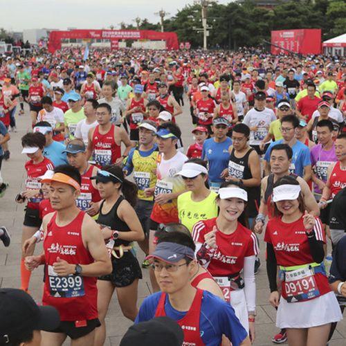 Afbeelding van Honderden valsspelers bij halve marathon